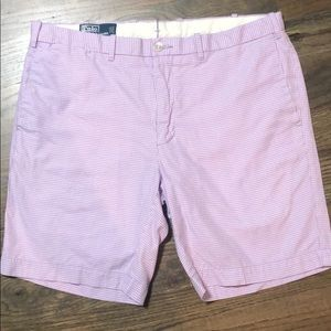 Ralph Lauren men's gingham shorts size 34.